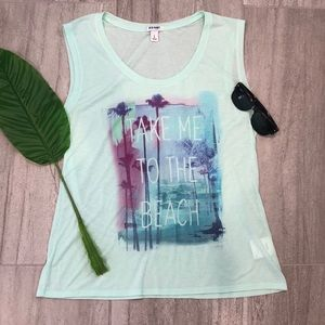 Old Navy Take Me to the Beach Tank
